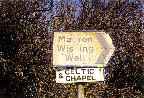 1st. madron sign